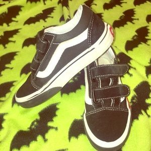 🔥 Kids Flaming Vans Sneakers 🔥